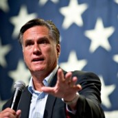 Mitt Romney wint in Iowa